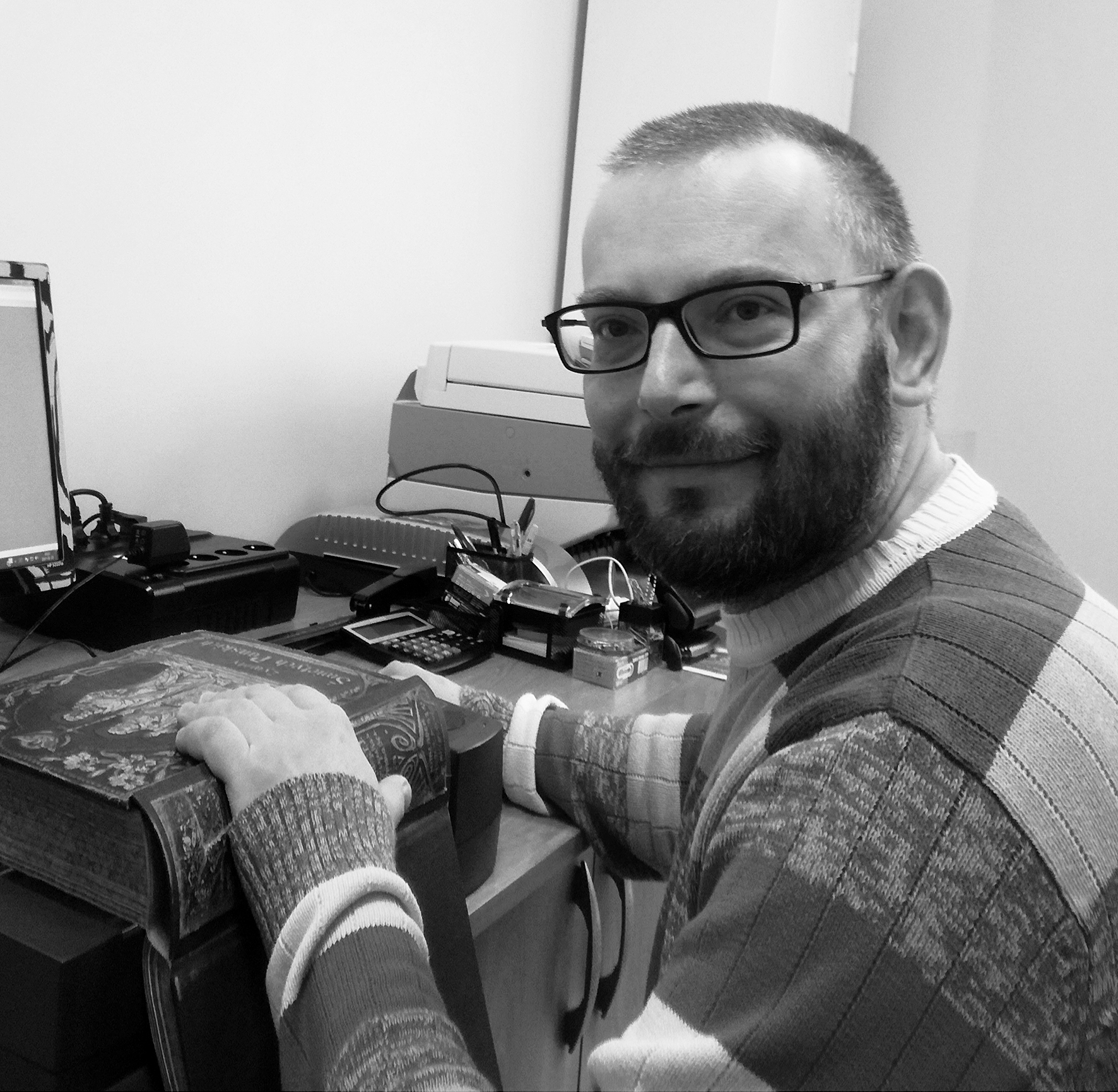 Specjalista ds. Organizacyjnych / Bibliotekarz Bartłomiej Wiszowaty