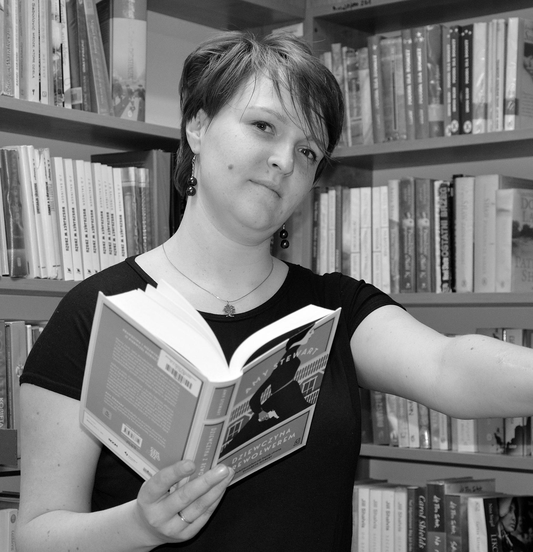 Starszy Bibliotekarz - Marta Plińska